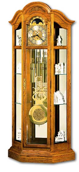 Curio Floor Clocks